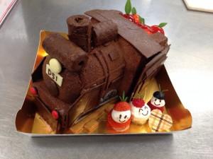 加毛さん夢ケーキ