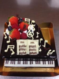 扇谷さん夢ケーキ
