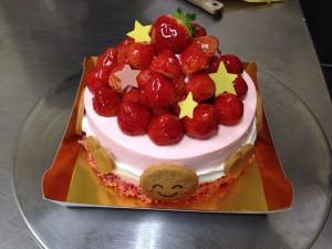 倉持さん夢ケーキ