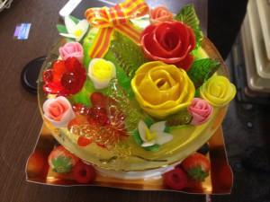 須藤さん夢ケーキ