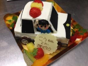 佐々木さん夢ケーキ