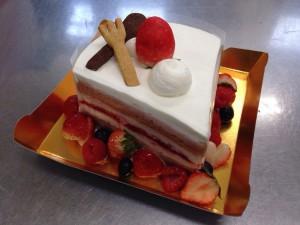 宮上さん夢ケーキ