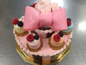 堀内さん夢ケーキ