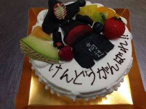 黒木さん夢ケーキ